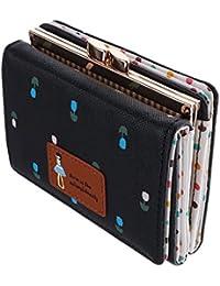 Phenovo Fashion Women PU Leather Wallet Lady Short Card Holder Handbag Bag Clutch Purse