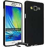 Ownstyle4you - Samsung Galaxy A3 2016 A310F Coque Housse Etui PREMIUM Gel Souple TPU NOIR / Protection Pare-Chocs Goutte Absorption des Chocs + Protecteur d'écran tactile