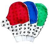OHA-PET Fellpflegehandschuh für Hund, Katze & Kaninchen *Waschbar, Universalgröße* Fellhandschuh