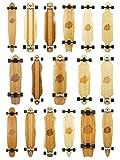 Skateboard longboard di alta qualità, serie Bamboo, Chuck 44in