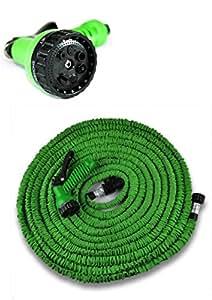 Tubo pompa estensibile flessibile giardino 22 5 metri for Tubo giardino 5 8