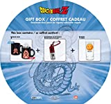 Dragon Ball Geschenk Set 3tlg Thermoeffekt Tasse Glas 3D Schlüsselanhänger