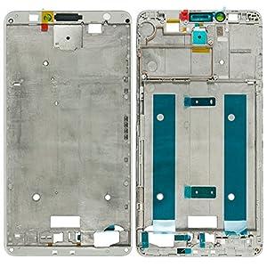 Original Huawei Front Cover white / weiß für Huawei Ascend Mate 7 (Gehäuse, Display Rahmen)