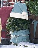 Videx Winterschutz Pflanzen-Weihnachtsmütze, 36x42cm