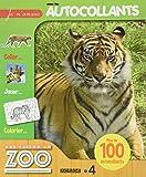 Une saison au zoo Tigre - Je m'amuse avec les autocollants