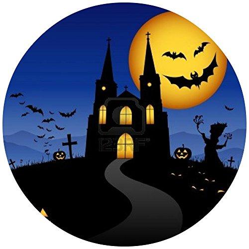 Tortenaufleger Tortenfoto Aufleger Foto Bild Halloween rund ca. 20 cm (3) *NEU*OVP*