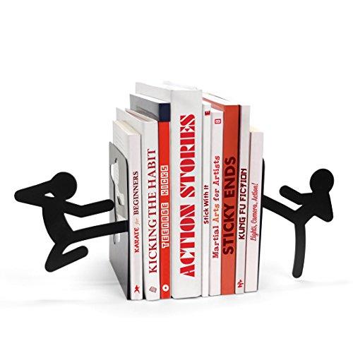 mustard-m16021-libri-dvd-fermalibri-metallo-nero-stickmen-bookends