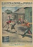 Il lanciatore di coltelli. Walter Hopkins stava provando il suo pericoloso numero con la moglie come bersaglio vivente quando un loro figlio ch'essi non vedevano da anni, correva d'improvviso verso l