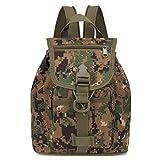 IFIY Unisex Camouflage Wanderrucksäcke Freizeit Rucksack Für Mädchen Jungen Orthopädische Kinder Schule Rucksack Kinder Tasche (Tarnung_9)
