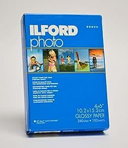 Ilford 2002578 Papier pour Imprimante A6 100 Feuilles