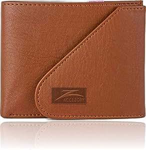 Accezory tan Men's Wallet (AZKAAN1TNTN)