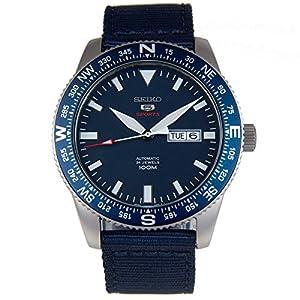 Seiko SRP665K1 - Reloj Automático, Correa de Nylon Azul de Seiko