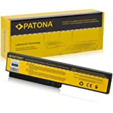 PATONA Batería para Laptop / Notebook Casper TW8 s - Fujitsu-Siemens SW8 | TW8 - Gericom G.Note MR0378 - Gigabyte W476 | W576 - HASEE HP550 | HP430 | HP560 | HP640 | HP650 | HP660 - LG XNote R410 | R510 | R560 | R580 - Philips Freevents 15NB8611 | 15NB8611/05 - Qaunta TW8 | SW8 | DW8 | EAA-89 - [ Li-ion; 4400mAh; negro ]