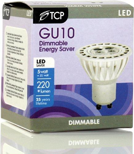 TCP LED GU10 Reflector 5W 330lm 3000K 25.000h dimm -