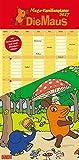 Die Maus 2017 - DuMont Mega-Familienplaner - mit den wichtigsten Feiertagen und Mondphasen - Hochformat 33,8 x 68,5 cm: Zur Sendung mit der Maus