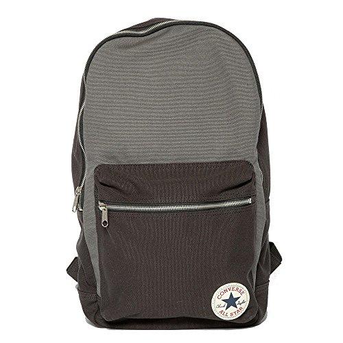 Imagen de converse  core plus canvas backpack, color varios colores  converse black / converse charcoal, tamaño 26 x 45.5 x 12.5 cm, 15 liter, volumen liters 15.0