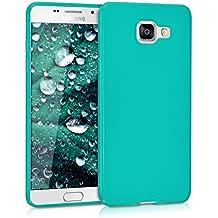 kwmobile Funda para Samsung Galaxy A5 (2016) - Case para móvil en TPU silicona - Cover trasero en turquesa mate