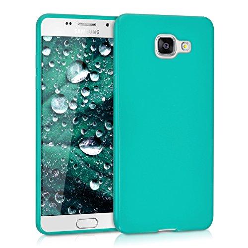 kwmobile Samsung Galaxy A5 (2016) Cover - Custodia per Samsung Galaxy A5 (2016) in Silicone TPU - Backcover Protezione Turchese Matt