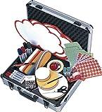 Franken Moderations-Koffer Profi Grundausstattung Aluminiumkoffer