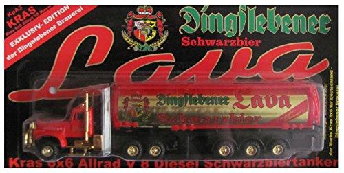 Dingslebener Nr.20 - Lava Schwarzbier - Kraz KPA3 - Russischer Sattelzug mit Tankauflieger