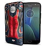 MTT Spider Man Infinity War Officially Licensed Armor Back Case Cover for Moto G5s Plus (Design 272)