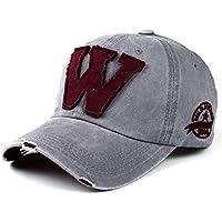 Retro Cotton Baseball Cap - iParaAiluRy esterna vecchio stile alla moda unisex tempo libero regolabile Cappello da cowboy ricamo per maschi e femmine