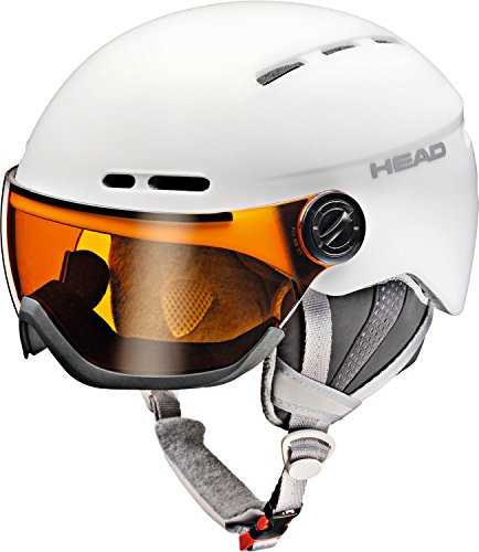 Head Damen Queen Ski/Snowboard Helm, damen, Queen, weiß