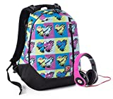 zaino double backpack seven pop hearts || per maggiori informazioni e per specificare il colore o il modello contattateci subito
