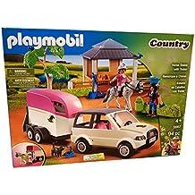 PLAYMOBIL 5667 establos con caballos transportador