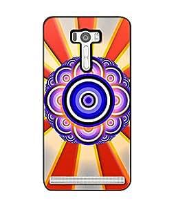 Crazymonk Premium Digital Printed Back Cover For Asus Zen Fone Selfie