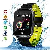 Best Relojes de pantalla táctil - Smartwatch, Kivors Bluetooth SmartWatch IP68 Impermeable Relojes Inteligentes Review