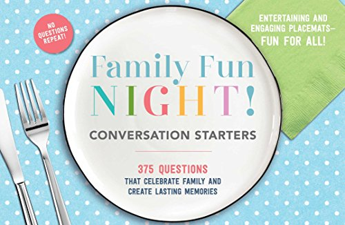 Kochen Trivia Game (Family Fun Night Conversation Starters Placemats)