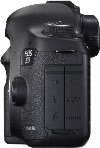 Canon EOS 5D Mark III SLR-Digitalkamera (22 Megapixel, CMOS-Sensor, 8,1 cm (3,2 Zoll) Display, DIGIC 5+ Prozessor) Gehäuse schwarz -