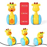 BABY-TOYS Early Education 3 Months + Baby Hip Hop Swing reindeer Children tumbler animal toys for Children & Kids Boys and Girls