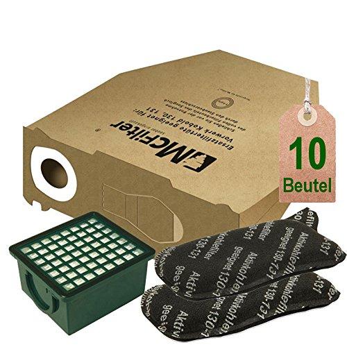131 10 Sacchetto per aspirapolvere adatto per Vorwerk Folletto 130 131sc