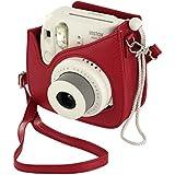 Fujifilm Housse pour Appareil Photo pour Instax Mini 8 - Rouge