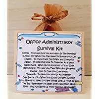 Office Administrator Survival Kit - A Unique Fun Novelty Gift & Keepsake !