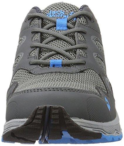 Jack Wolfskin Venture Fly Low M, Scarpe da Trail Running Uomo Grigio (Ocean Blue)
