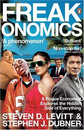 Buchseite und Rezensionen zu 'Freakonomics' von Steven D. Levitt