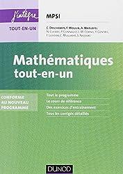 Mathématiques tout-en-un MPSI - 3e éd. - Conforme au nouveau programme