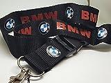 BMW Deluxe Umhängeband für Ausweishalter, mit abnehmbarer Clip (BMW)
