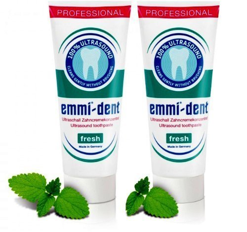 Emmi-dent Nano Bubbles Toothpaste ,75ml 2pack (Nature) by Emmi-Tech Inc