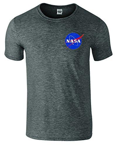 sns-online-heather-gris-fonce-m-poitrine-38-40-astronaut-nasa-space-hommes-femmes-dames-unisex-t-shi