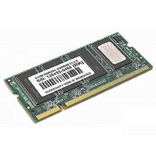 512MB Ram Laptop SODIMM Transcend TS64MSD64V6M DDR1pc-2100266MHz -
