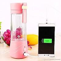 Latest Design Juice Mixer Bottle 380 ML Random Color