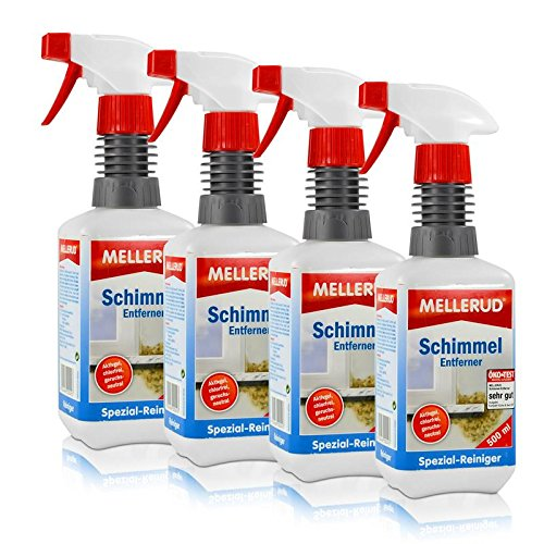 Preisvergleich Produktbild 4x Mellerud Schimmel Entferner Aktivgel 500 ml