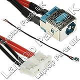 Acer Aspire 5235, 5335, 5535, 5735, 5735Z, 7535, 7535G, 7735, 7735G, 7735Z, 7735ZG 7738, 7738G, 7738Z DC en conector de alimentación con cable
