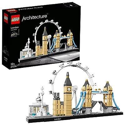 LEGO 21034 Architecture London Skyline Building Set, London Eye, Big Ben, Tower Bridge Building Model