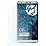 Bruni Schutzfolie für HTC Desire 820 / 820G+ Folie - 2 x glasklare Displayschutzfolie