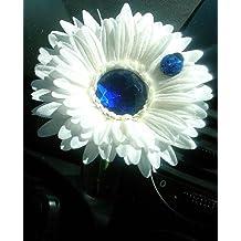 Bling My Bug - Margarita de decoración para Volskwagen Beetle, color blanco ...